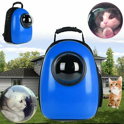 Pet Dog Puppy Cat Carrier Travel Bag Space Capsule Backpack Breathable