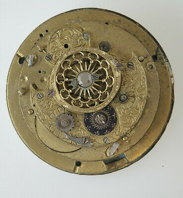 VERGE Fusee REPEATER Pocket Watch movement c1810