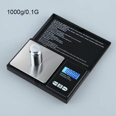 0.1-1000G Precision Digital Scale Coin Jewelry Pocket Tools NEW