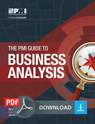 The PMI Guide to Business Analysis PMBOK - P.D.F-EDITION
