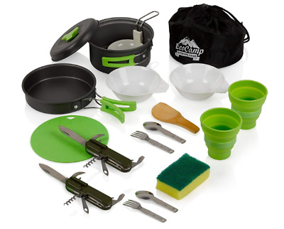 Camping Cook Kit Outdoor Backpacking Camping Hiking Cooking Picnic Cookware