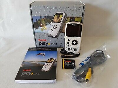 Kodak Playsport Zx3 Camcorder Boxed High Definition Water Proof Hd & 4Gb Card