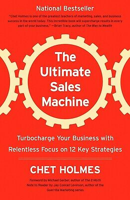 The Ultimate Sales Machine by Chet Holmes 2008 (PDF) Fast Delivery