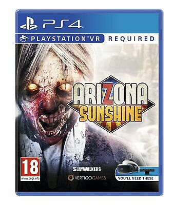 NEW & SEALED! Arizona Sunshine VR Sony Playstation 4 PS4 Game