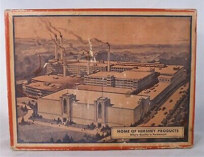 Early 1930's Home Of Hershey Chocolate Advertising Store Display Factory Box #40