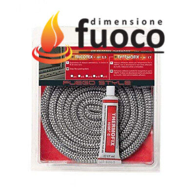 KIT PROFESSIONALE TRECCIA ARTICA + THERMOFIX Diametro: 6 mm Lunghezza mt.2,5