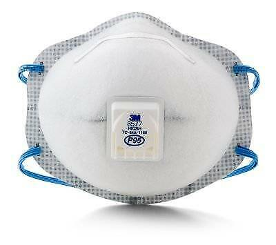 3M P95 8577 Disposable Particulate Respirator (10 Packs)