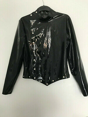 Latex Jacke Shirt Dress, v.Rosengarn, Frau, M, Domina Lack Leder Rubber Fetisch