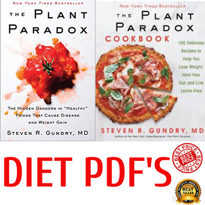 Plant Paradox Cookbook by Steven R. Gundry Diet Health Fitness Nutritions P DF
