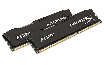 Kingston HX316C10FBK2/8 HyperX Fury 8GB 1600MHZ kit of 2