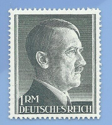 Nazi Germany Third Reich 1941 Adolf Hitler 1RM stamp MNH WW2 ERA