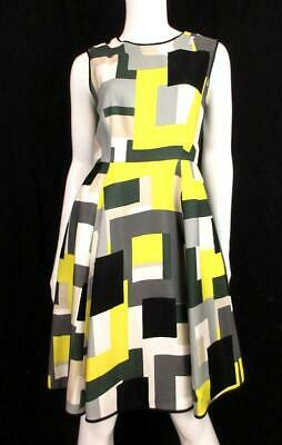 f8d873abe96d KATE SPADE NEW York Leopard Print Fitted Dress Sz 8 Exposed Zipper ...