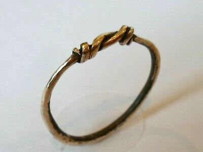 Unique Gifts ,A Superb,Detector Find,Viking Period Bronze Ring.polished.