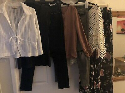 Bundle Ladies Clothes Size 8/10 ~ Inc Zara Levi Newlook