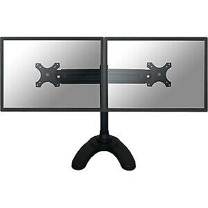 "NEW! Newstar Tilt/Turn/Rotate Dual Desk Stand for Two 19-30"" Monitor Screens Hei"