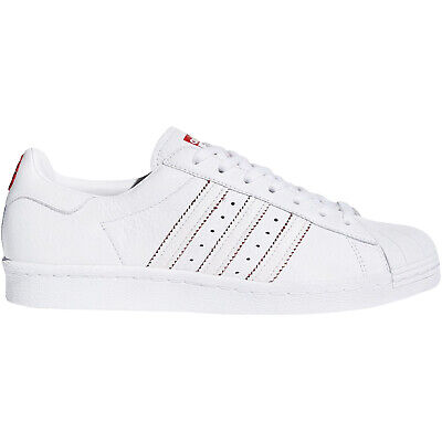 best sneakers 691ab befb8 adidas Originals Mens Superstar 80s CNY Low Rise Shell Toe Trainers Shoes  White
