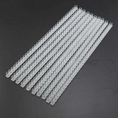 10pcs/Set Queen Bee Cell Bar Strip Set Base for Beekeeping With Queen Cell Cups