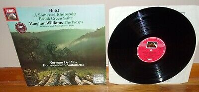 His Master's Voice UK-Holst-Somerset Rhapsody-Williams-The Wasps-Del Mar-NM/NM-!
