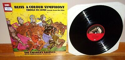 His Master's Voice UK-Bliss-A Colour Symphony-Things to Come Film-NM/NM- lp TAS!