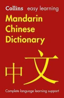 Easy Learning Mandarin Chinese Dictionary by Collins Dictionaries 9780008300289