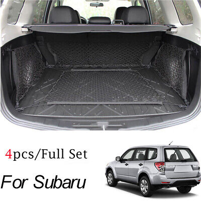 Rear Boot Cargo Net Envelope Floor Side Luggage Nets For Forester Outback XV