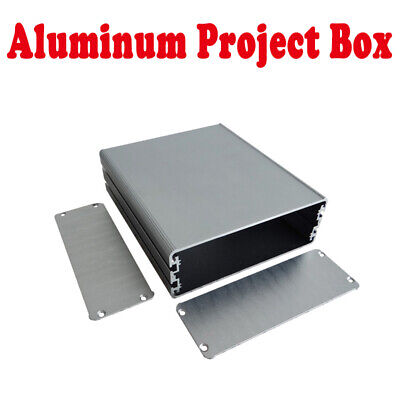 44x122x140mm Aluminum Instrument Box Enclosure Electronic Project Case