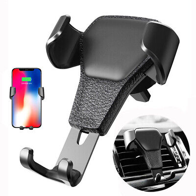 Gravity Car Phone Holder Mount Air Vent Stand Cradle For Universal Cell Phone