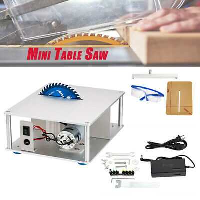 Mini Electric Bench Saw Table 110-220V DIY Woodworking Wood Cutting Tool US