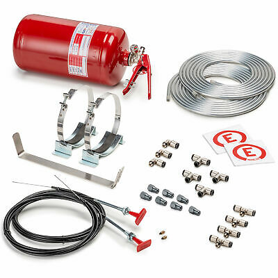 Sparco Mechanical 4.25 Ltr FIA Approved Fire Extinguisher System Race Rally