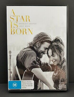 A Star Is Born  (2018, Lady Gaga & Bradley Cooper) Dvd