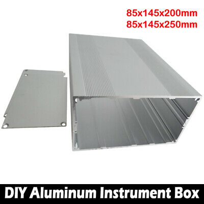 85x145x200mm Aluminum PCB Instrument Box Enclosure Case Electronic Project DIY