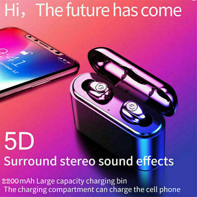 3f55b179853 Wireless Bluetooth Earphone TWS Earbuds Earpods Mini In-Ear Pods For IOS  Andriod