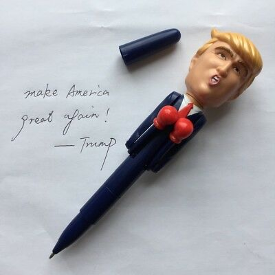 DONALD TRUMP BOXING/Smack-TALKING Collectible PEN-8 REAL VOICE Saying