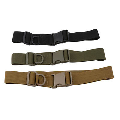 Men Military Belt Tactical Army Hunting Outdoor Waistband Nylon Training Belt JD