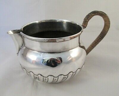 A Good Large 19th Century Silver Plated Milk Jug