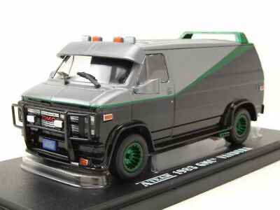 GMC Vandura A-Team Van 1983 TV-Serie GREEN MACHINE Modellauto 1:43 Greenlight