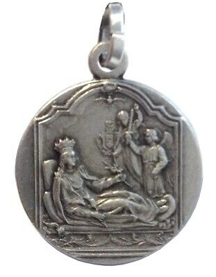 Saint Philomena 925 Sterling Silver Medal - 100% Made In Italy