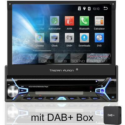 Android 8.1 Autoradio mit Navi Bluetooth Navigation 1 DIN DAB Touchscreen CD DVD
