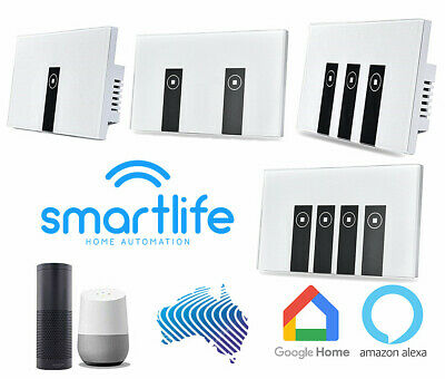 WiFi Touch Switch Google Alexa Smart Home Automation Light LED Power Point AU