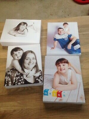 PERSONALISED 10x8 Inch A4 CANVAS PRINTS Your PHOTO ON  2inch DEEP FRAME