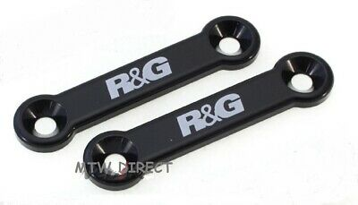R&G Passenger Foot Rest Blanking Plates ( PAIR ) for BMW S1000R (2014-2019)
