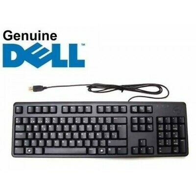 Dell Keyboard  KB212-B ENGLISH/QWERTY BRAND NEW OPENED QUIET KEYS WIRED USB