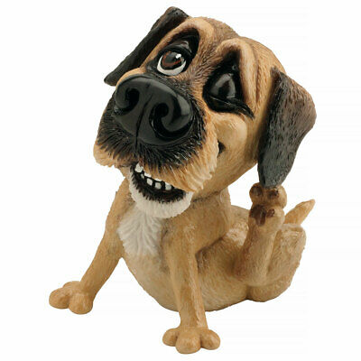 "Little Paws ""Bob"" Border Terrier Dog Figurine Statue 4.25"" High Ceramistone New"