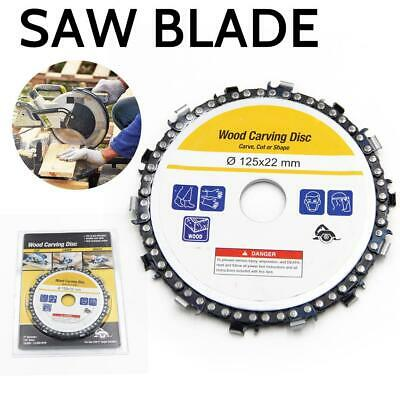 5''14-tooth Chain Plate Woodworking Chain Saw Disk Cutting Slotted Saw Blade