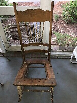 Antique Rocking Chair without Arms