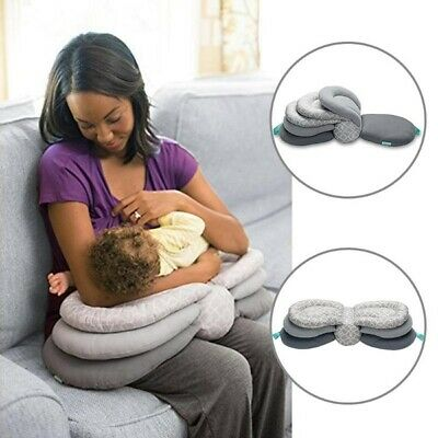 Newborn Breast Bottle Feeding Positioner Nursing Pillow with Removable Cover