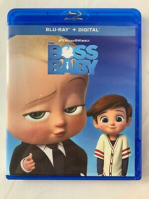 The Boss Baby (DVD,2017) No Digital Copy