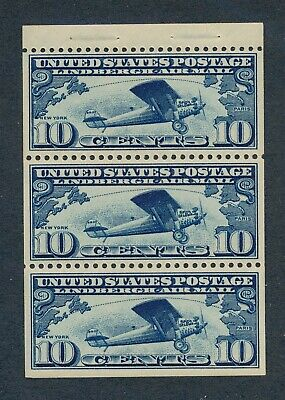 drbobstamps US Scott #C10A NH Mint Stamp, Mild Gum Skips Cat $120