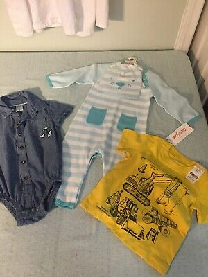 BABY BOY CLOTHES LO 6-9 M 18 M and 12 M BUNDLE MIXED