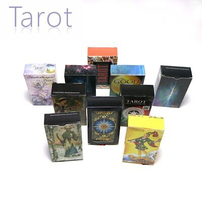 10 style tarot cards English version mysterious divination fate personal